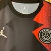 パリ・サンジェルマン × ジョーダン コラボ ゲームシャツ ナイキのサイズ感の参考に