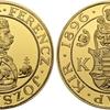 オーストリア ハンガリー帝国1896年フランツジョセフ9ダカットゴールド