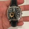 今日の時計。再びカンパノラ 黒麗 CTU57-1241