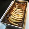 スパイスチョコレートケーキ、紅玉りんごのせ