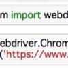【Python seleniumを使ったWebスクレイピング】モジュールとドライバのインストール方法。JavaScript部分のソースはこれで取得する