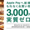 三井住友カードのApple payへ新規設定キャンペーンについて、三井住友カード株式会社様に問い合わせをした件