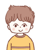 広告 幼児 小学生男児 女子大生のイラスト