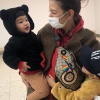 【スザンヌの妹マーガリンの子育てin熊本】大好きな甥っ子とのお留守番🎵くら寿司からの空港〜🎵