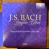 謹賀新年7連発 6/7 バッハ全集 全部聞いたらバッハ通 CD20 BWV1017-1019 バイオリンとチェンバロのためのソナタ
