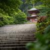 勝尾寺=だるまの寺 2018.05.17新緑が眩しい。