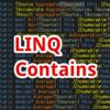 【C#,LINQ】Contains~配列やリストの中で指定した要素があるかを判定したいとき~