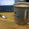 『スノーピーク*snow peak』のチタン製マグカップでコーヒーブレイクを