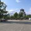 初夏の大阪城天守閣公園