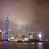 """【観光】6月の上海、夜景と上海蟹""""六月黄""""、heyteaと満喫しました。"""