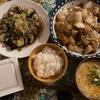 白菜と高野豆腐の梅肉あんかけ