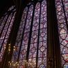 【旅ログ】フランス・パリのサント・シャぺル。世界一のステンドグラス!万華鏡の中へ(2013/10/15)