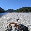 長良川で河原飲み