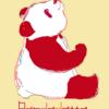 まふまふ感がかわいい? パンダのイラスト