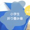 【小学生折り畳み傘】1コマ透明が安全でおすすめ!でも意外と売っていない現実