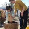 三世代が和気藹々と交流〜川越・久下戸住宅自治会で餅つき大会開催!