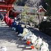 【鎌倉いいね】鶴岡八幡宮の祈年祭、神職さん達の装束が美しい。