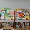 【絵本収納】まるで児童館!ダンボールの絵本棚。ディスプレイと立て収納の併用で家の中の絵本が一気に片付く