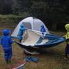 テント練習