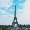パリのシンボルと言えばエッフェル塔!!