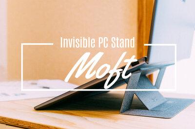 ノートPCに『見えないPCスタンド』がニュースタンダード。MOFTを再購入しました!