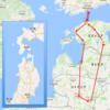 リトアニア(Vilnius)からエストニア(Tartu)に大移動