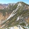 空木岳。10月下旬。