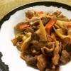 【レシピ16】10分でできる!「豚肉と筍のオイスターソース炒め」お弁当のおかずにいいよ。
