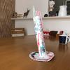 うちの4才児が作ったロケット