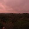 グアテマラ ティカル遺跡観光 4号神殿からの朝日鑑賞