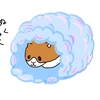 ハムスターの暖にダイソーふわふわおふとんを使ってみた。