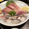 神田ランチ 「いわしのお刺身」と?の組合せ定食