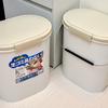 生ゴミが臭わないゴミ箱をリピート買いしました!ロック&パッキンでしっかり密封!