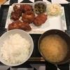 今日の昼食 唐揚げ定食