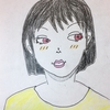 可愛らしい女の人を描く?8