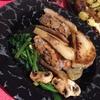 【レシピ】コールラビのはさみ焼き ラムと牛の挽肉で