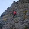 9月例会山行バリ班(小同心クラック登攀)その2