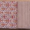 タッサーシルクの半巾帯と博多織の名古屋帯