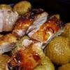 芋がウマイ、芋って炭水化物なのに美味すぎる・・お肉はあくまで芋を美味しくさせるブースターって事で。