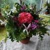ハーブと花の小さな花束タッジーマッジー