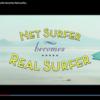 ネットサーファーが本物のサーファーに!?短編映画のようなストーリーで送る宮崎県日向市の観光PR動画「Net surfer becomes real surfer」