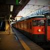 高崎駅北側の素敵な曲線形^^…2015年信越線