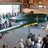 鶉野(うずらの)飛行場跡地で「紫電改」の実物大模型見学
