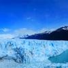 生きている氷河は絶景