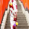 米田麗香が選ぶ今年の浴衣