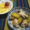 【アニス】と鶏肉、サツマイモ、キノコを煮込む 優しい味わいでご飯にも合う 塩味が甘味を活かす! (栗でもOK)