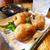 カツオとアボカドの串揚げと芋ロック@鹿児島市中央町