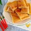 イタリア友人直伝プーリア州の伝統料理【たまねぎの詰め物入りフォカッチャ】レシピ