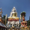 ワットクンチャンの仏像はすごいけどなんだかカオス(วัดขุนจันทร์:タラートプルー)