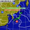 【19日5時更新】20日の東京の雪マークは晴時々曇りに!!南岸低気圧の影響はなしか!?